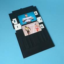PVC bandeja de tarjeta ID para EPSON R260 R280 R380 Artisan50 T50 T60 P50 R270 R290 R390 R295 R265 R285 L800 L801 impresora