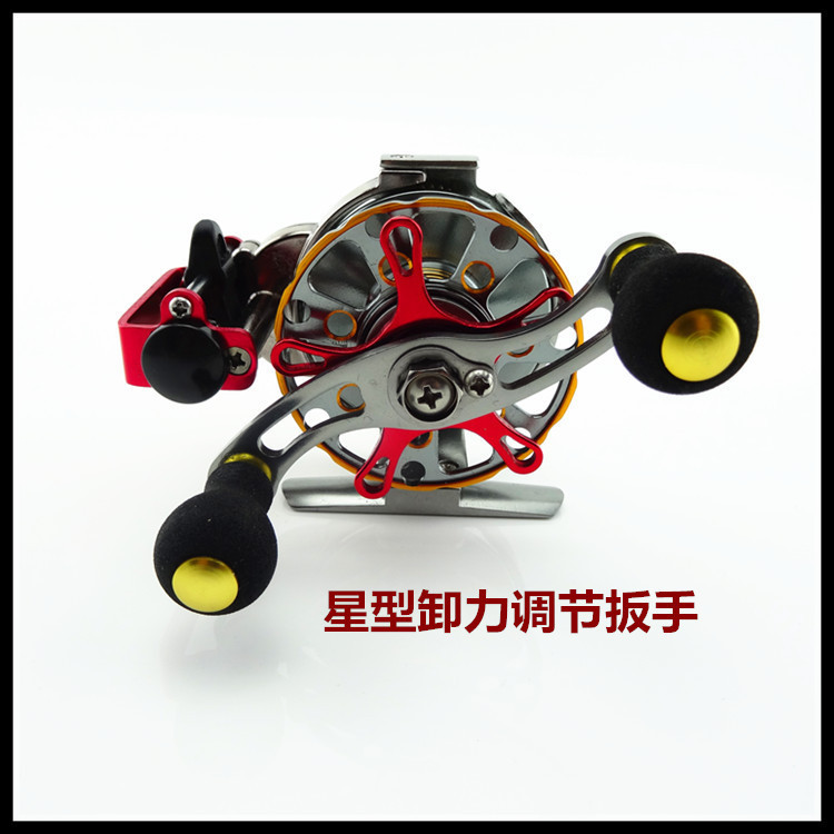 metal fish line reel BA60 ratio raft reel speed automatic cable Fly Reels metal fishing line reel