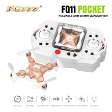 FQ777 FQ11 3D Mini Drone 2.4G 4CH 6Axis Foldable Helicopter Portable RC Quadcopter Pocket Drone RTF Multicopter Toys Children