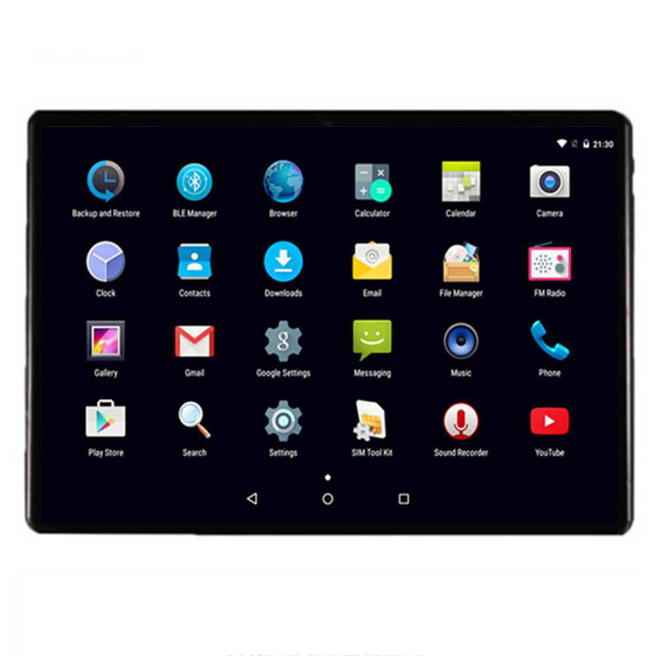 10 pouces tablette IPS 1920x1200 Android 7.0 Octa Core 32 GB/64 GB Octa cœurs écran tablette Google pris en charge 7 8 9 10 10.1
