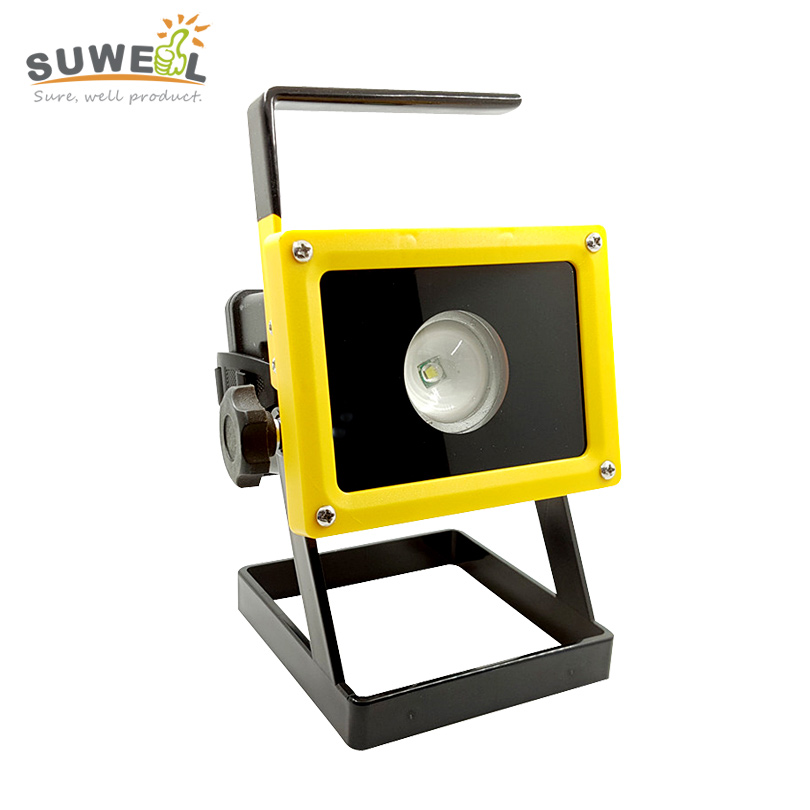 Waterproof Ip65 Floodlight Spotlight Outdoor Lighting Portable Refletor Led  Flood Light 12 Volt T6 Rechargeable 18650