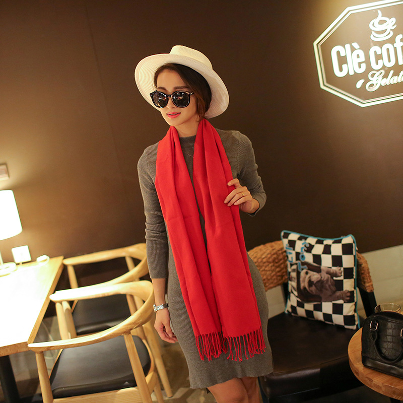 Fashion Lady Soft Long   Scarf     Wrap   Shawl Cashmere   Wrap