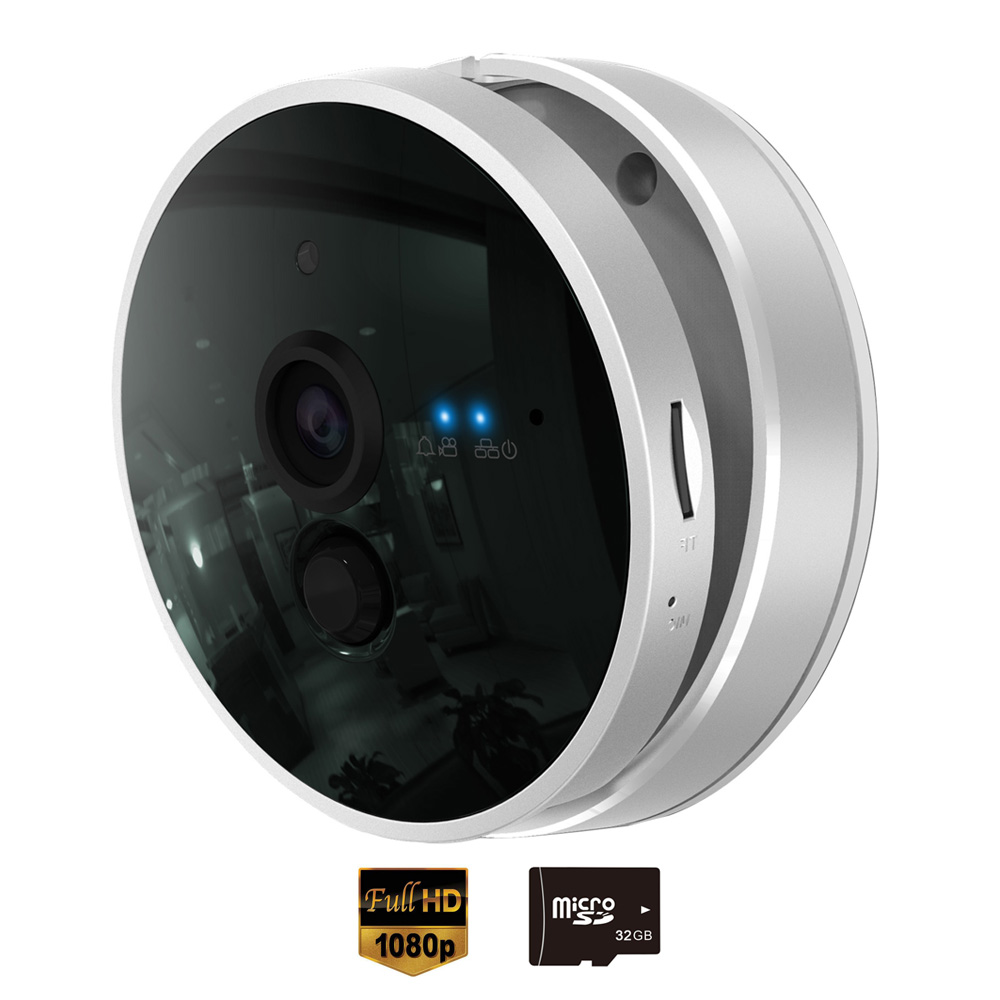 CTVMAN IP Camera Wi-fi HD 1080P with 32GB SD Card 2 Way Audio PIR Motion Detection Wireless 2MP Mini CCTV Security Home Kamera светильник roxy kids rt m002