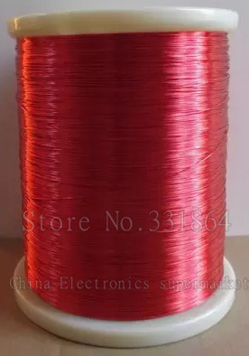 Free Shipping 0.8mm *60m / pcs  QA-1-155 2UEW Polyurethane enameled Wire Copper Repair cable