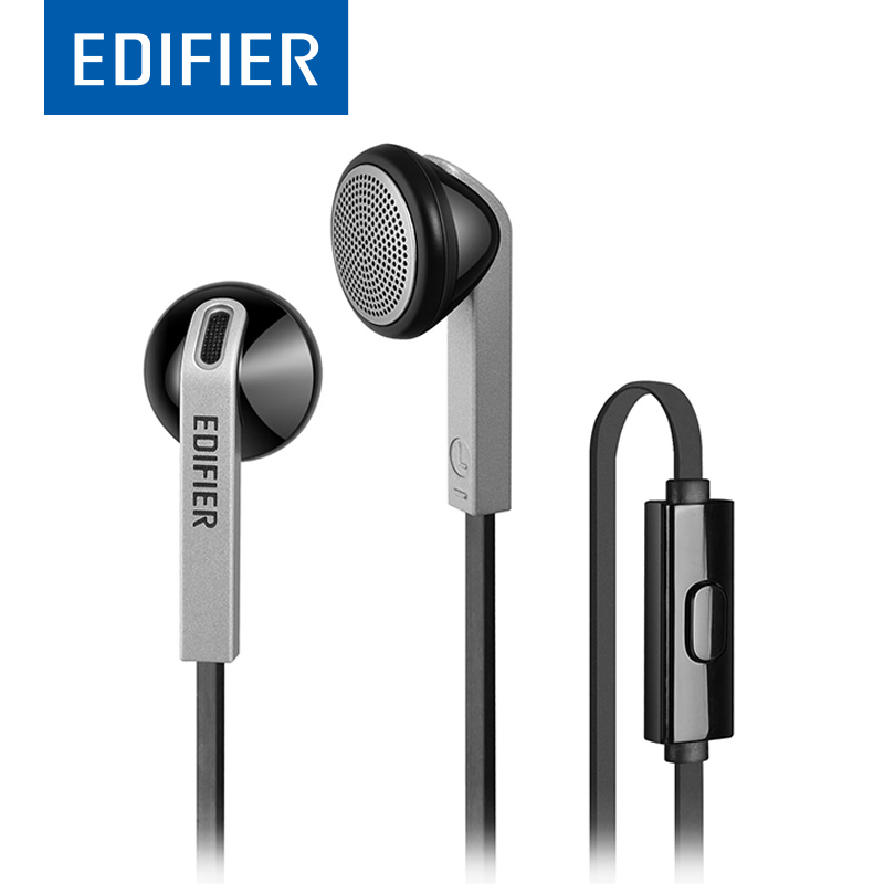 все цены на EDIFIER H190 P190 HIFI Earphone In-Ear High-Quality Performance Stereo Earphone 3.5MM Plug With Mic For Mobile Phone Tablet онлайн