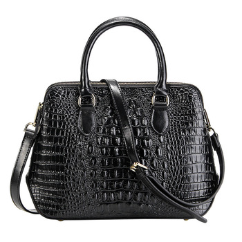 100% Genuine Leather New Fashion Women Handbags Real Leather Ladies Shoulder Bags Female Girl Alligator Famous Brand Luxury Bag