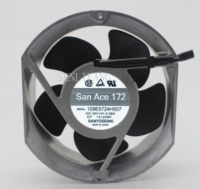 Free Shipping Original 109E5724H507 24V 0.58A 172*150*51 Fan
