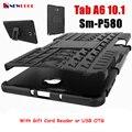 Для Samsung Galaxy Tab A 6 A6 10.1 P580 P585 S-Pen Tablet case Heavy Duty Защитник Прочный ТПУ + PC Броня Противоударный KickStand