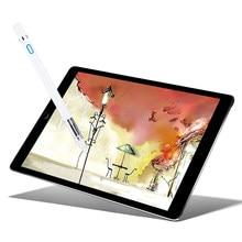 """액티브 스타일러스 펜 용량 성 터치 스크린 화웨이 MediaPad M5 Lite 8.0 10 10.1 8 """"BAH2 L09 W19 JDN2 W09 타블렛 케이스 NIB 1.4mm"""