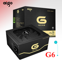 Aigo G6 active power supply Rated power 600W Max power 650W 12V atx pc desktop computer power supply fuente de alimentacion