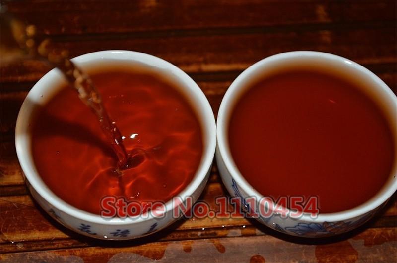 C-PE074 Famous Brands Old Puer Tea Health Care Pu'er Brick Pu er Tea Pu erh Compressed Puerh Yunnan Ancient Trees Brick Tea