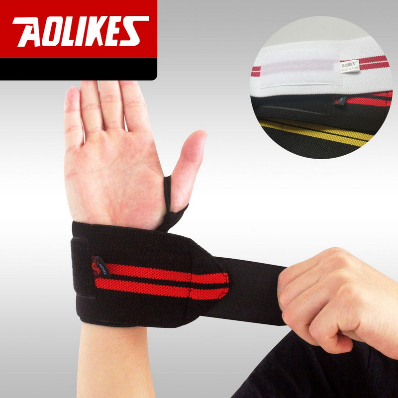 New Sports Exercise Training Fitness Weight Lifting Gym: 10PCS/LOT ! Weight Lifting Wristband Gym Wrist Support