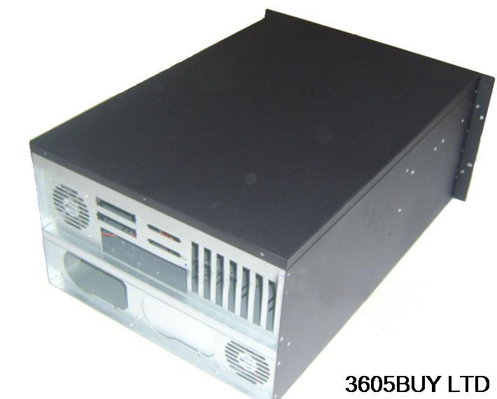 New 26 hard drive 6u computer case 6u server 6u industrial computer case dual cpu motherboard dual power new ultra short 3u computer case 38cm 8 hard drive pc large panel atx power supply 3u server industrial computer case