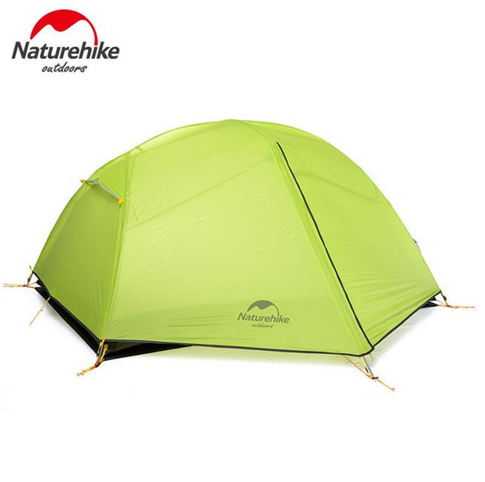 NatureHike Lightweight Tent Camping Outdoor 2 Person Ultralight Tents Equipment Waterproof Rainproof Double-Layer tents satlink ws 6980 7inch hd lcd screen dvb s2 dvb t dvb t2 dvb c ws 6980 combo finder with spectrum analyzer constellation meter