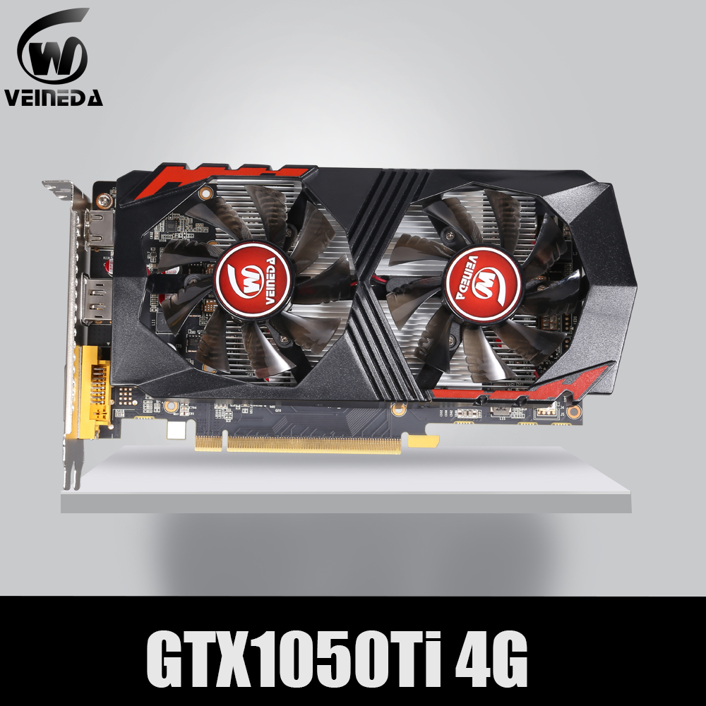 VEINEDA Video Card for Computer Graphic Card PCI-E GTX1050Ti GPU 4G DDR5 for nVIDIA Geforce GameVEINEDA Video Card for Computer Graphic Card PCI-E GTX1050Ti GPU 4G DDR5 for nVIDIA Geforce Game