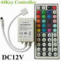1 PCS Novo 6A 44key LEVOU Controlador RGB Colorido Com Controle Remoto IR controle Mini Dimmer para SMD 5050/3528 Luzes Led Strip DC12V