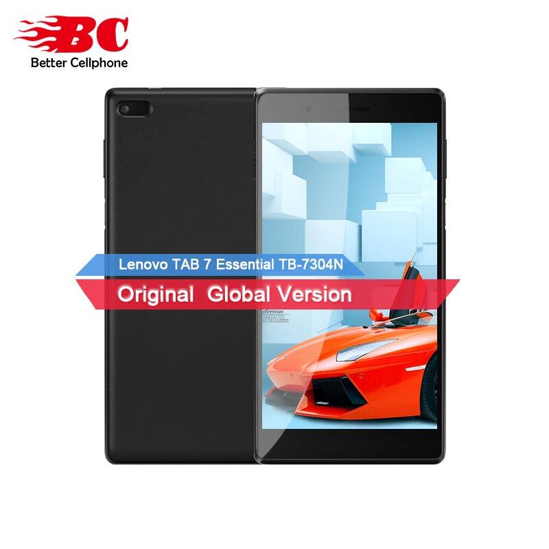 Original Nouveau Lenovo TAB 7 Essentiel TB-7304N MT8735D Quad-Core 1.3 ghz 64bit 1 gb RAM 16 gb ROM 7.0 pouce Android 7.0 Mobile Téléphone
