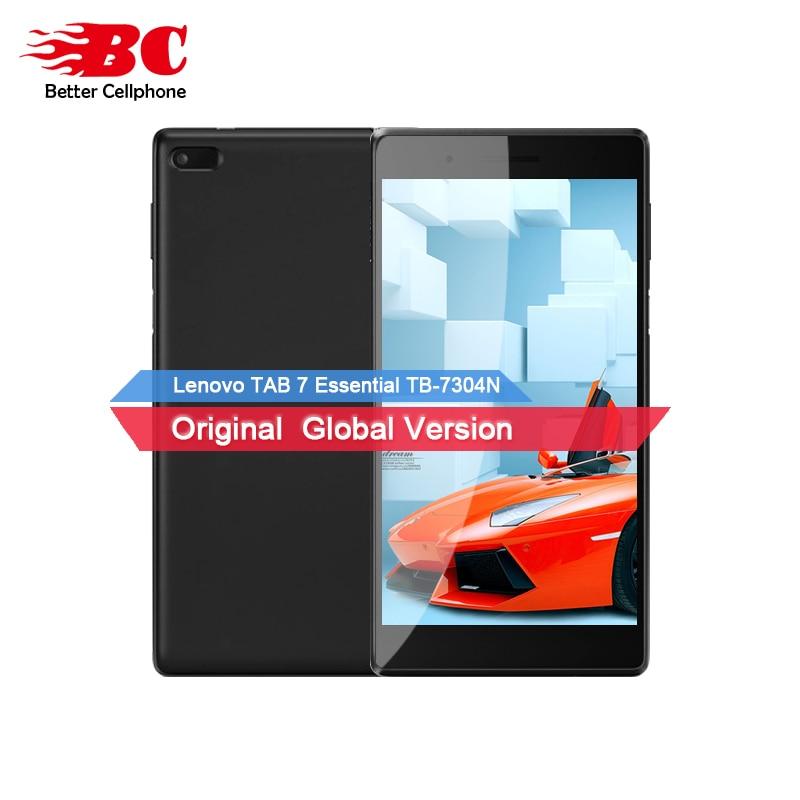 Originale Nuovo Lenovo TAB 7 64bit Essenziale TB-7304N MT8735D Quad-Core 1.3 ghz 1 gb di RAM 16 gb di ROM 7.0 pollice Android 7.0 Del Telefono Mobile