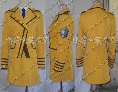 [Personnaliser] Anime! Complet métal panique Teletha Testarossa militaire uniforme Cosplay Costume Kadanhuang tissu Costume livraison gratuite