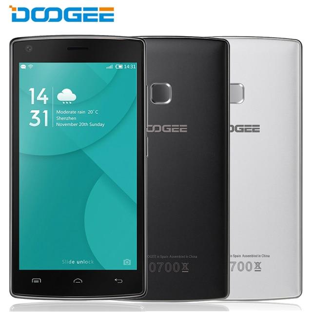 """Original doogee x5 mtk6737 max pro 2 gb ram 16 gb rom quad core android 6.0 os 5.0 """"HD de Pantalla Dual SIM Cámara de 5MP Smartphone LTE"""