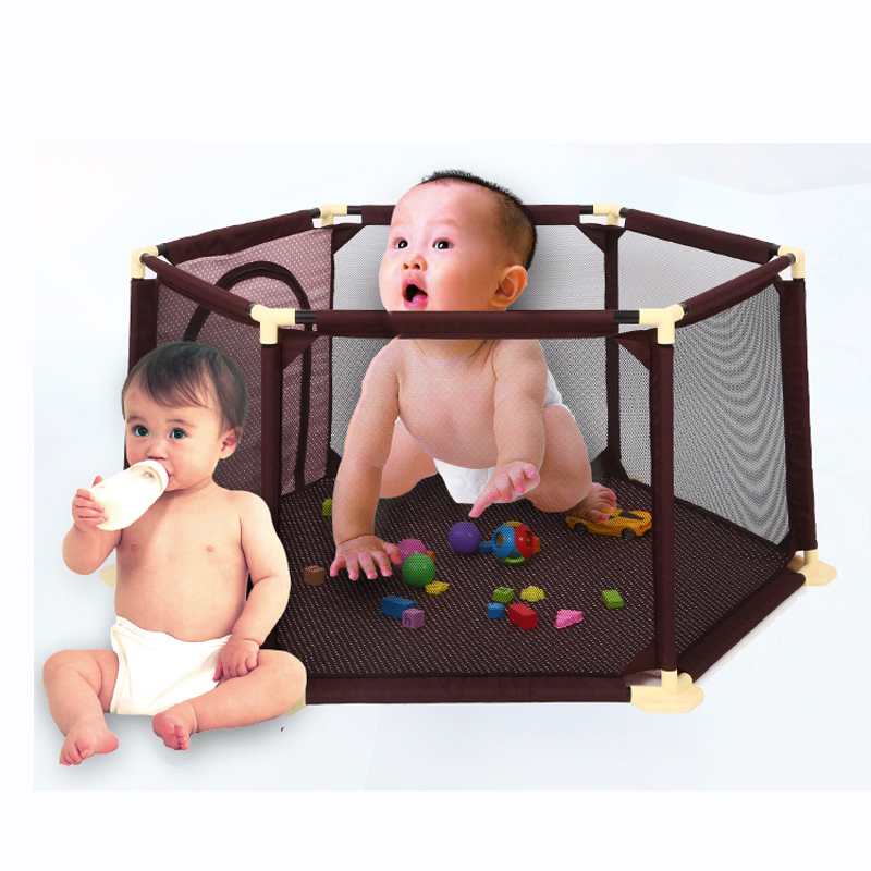 Baby Kids Safety Protection Care Playpen Tent Crawling Game Folding Fence Toys Fencing Play House Indoor Outdoor for Children new arrival indoor outdoor large children s house game room children s toys 3 in 1 square crawl tunnel folding kid play tent