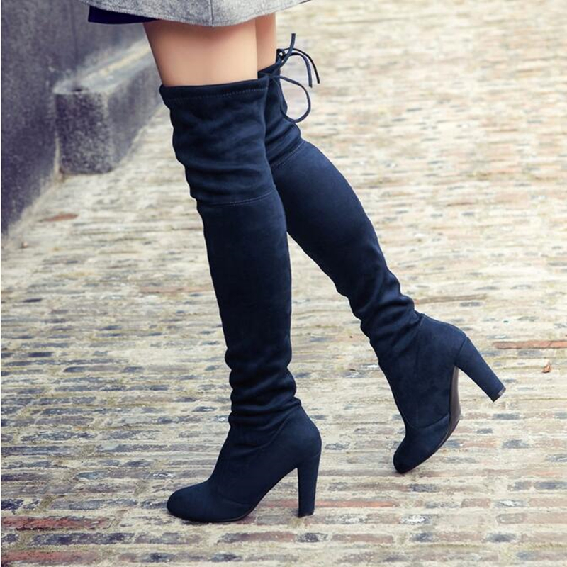 Popular Suede Stretch Boots-Buy Cheap Suede Stretch Boots lots ...