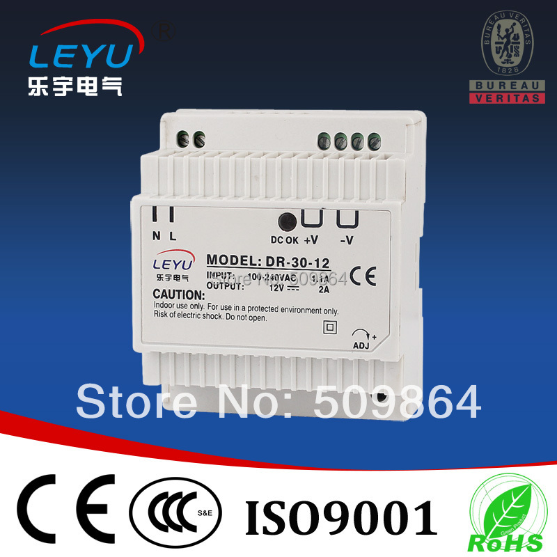 High Precision Din Rail Power Supply 30w 24v toothed belt drive motorized stepper motor precision guide rail manufacturer guideway