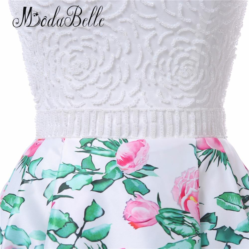 modabelle bloemenprint roze lange prom avondjurk vrouwen vestidos de - Jurken voor bijzondere gelegenheden - Foto 6