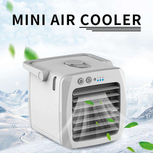Mini Portable Air Conditioner Conditioning Humidifier Purifier Air Cooler Personal Space Air Cooling Fan For Office Home Car цена и фото
