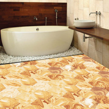 Imitation marble style home decoration tile sticker bedroom living room bathroom wall PVC waterproof oilproof