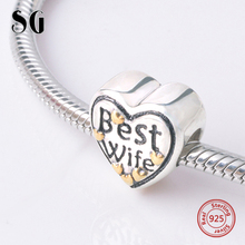 2018 new style silver 925 original Fit Authentic pandora charm beads for jewelry Making Sterling Silver Beads berloque