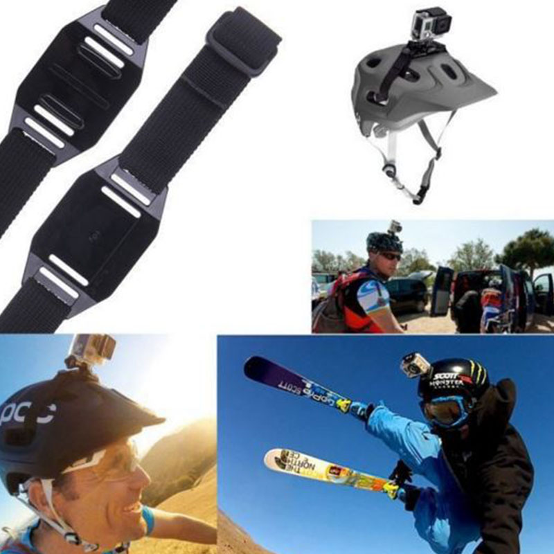 Vented Helmet Strap for SJCAM 5000