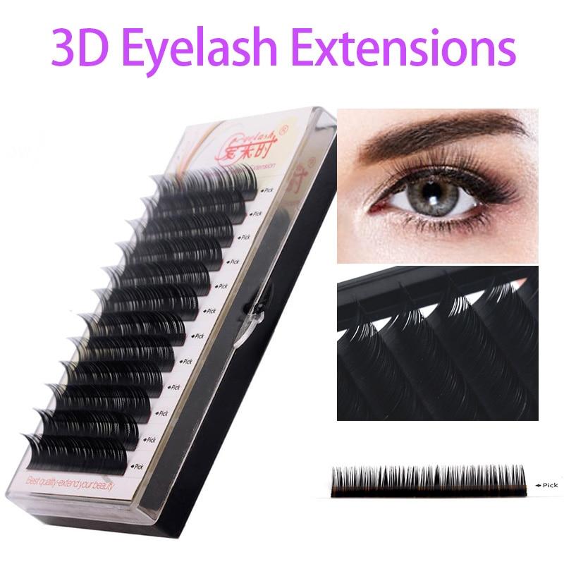 Toate dimensiunile Fake Eye Lashes Natural Long Soft moale Made - Machiaj
