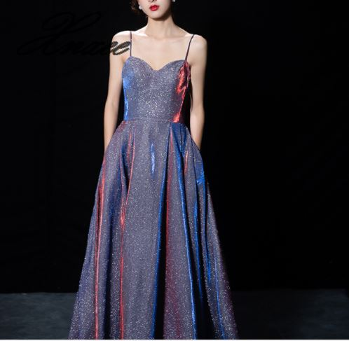 2019 Women's New Party Party Dress Elegant Sling Dress-in Dresses from Women's Clothing    1