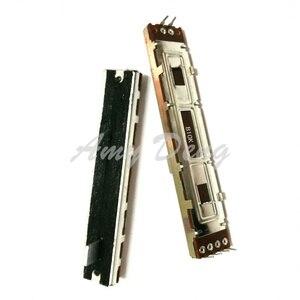 20 шт./лот 8,8 см широкополосный прямой раздвижной потенциометр B10K, длина двойного вала 8 мм, объемный фейдер смесителя