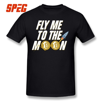 T-Shirt Bitcoin Fly Me To The Moon