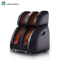 JinKaiRui Electric Vibrating Foot Massager Infrared Heating Leg Calf Massage Device Air Pressure Massagem Pain Relief