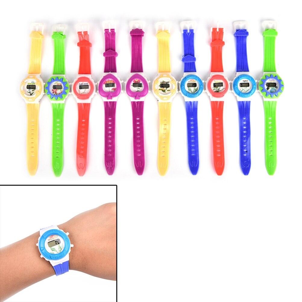 Digital Watch Boys Girls Students Children Watch Time Clock Electronic Digital Wrist Outdoor Sport Watch Newest