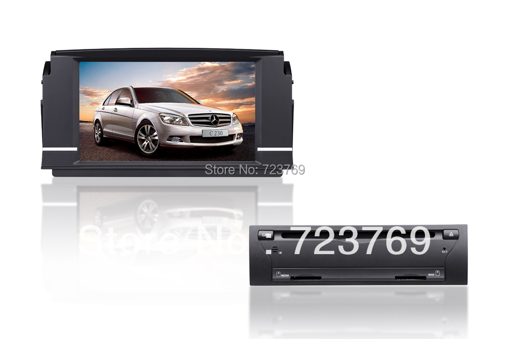 Best Special Car GPS Navigation System for Mercedes-Benz C Class W204(2008-2010) with ISDB-T + gps map 0