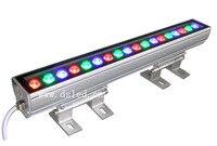 IP65 CE good quality  high power Linear 18W RGB LED wash light Linear RGB LED wall washer 18*1W 24VDC DS-T11-50cm-18W-RGB