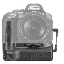 Câmera Titular Aperto Da Bateria Para Nikon D5100 D5200 D5300 DSLR Camera Funcionar com Baterias EN-EL14
