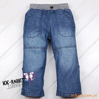 Retail Fashion Spring And Autumn Boy Casual Jeans Free Shipping In Stock