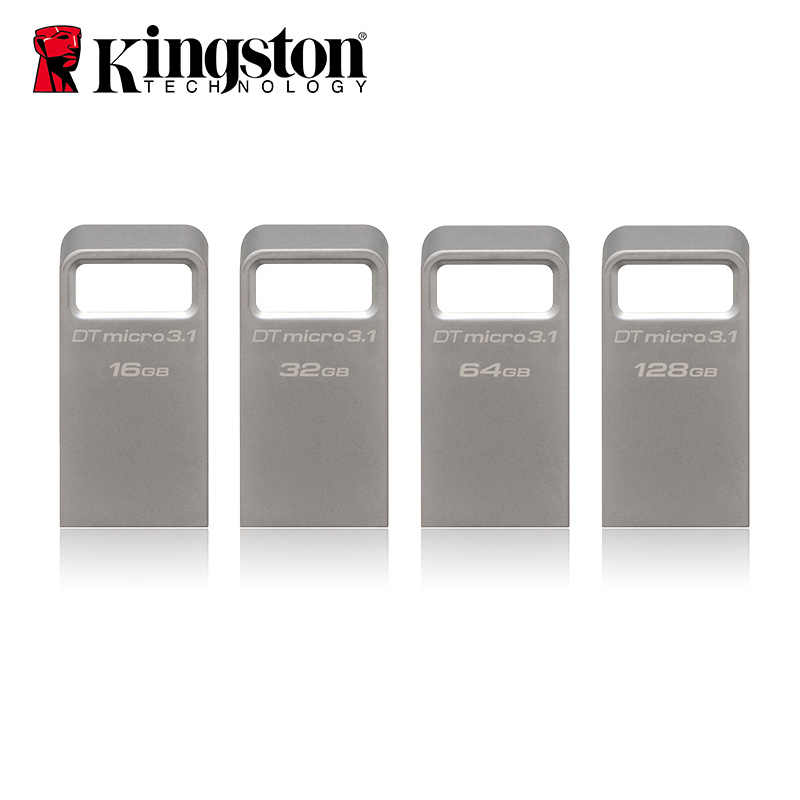 Kingston USB Flash 16 gb 32gb 64gb 128gb флеш-накопитель USB3.0 Memory Stick Cle USB3.1 Key Clef Thumb Drive Mini USB Flash Drive 16 gb
