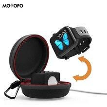 Для Apple Watch держатель для зарядки водонепроницаемый чехол для зарядного устройства s спортивный жесткий защитный портативный дорожный Чехол для переноски iWatch Series 1 2 3 4