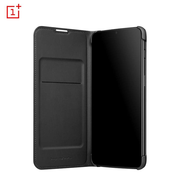 Original Case For Oneplus 6t Case One Plus 6t Mclaren: In Stock Original OnePlus 6T Flip Cover Black Case