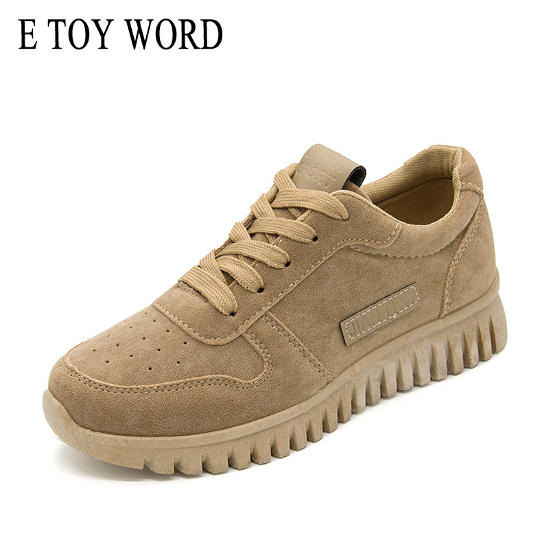 E TOY WORD Bodybuilding Sneakers Women Shoes Spring Autumn 2018 New Walking breathable canvas shoes Trend casual travel shoes e toy word women boots autumn winter