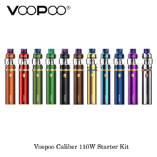 electronic cigarette 3000mAh Voopoo Caliber 110W Starter Kit With UFORCE Sub Ohm Tank 5ml Built-in 23600 Battery Vape Vaporizer
