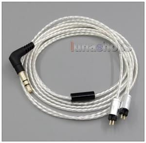 Image 1 - LN005117 Lightweight Silver Plated 4N OCC Cable For UM Unique Melody Miracle Merlin Mage Mentor AERO Marvel MASON