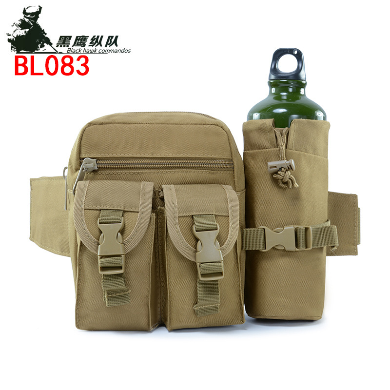 Military Tacticals Shoulder Bag Waterproof Oxford Molle Camping Hiking Pouch Kettle Bag Bolsillo Waist Pack Emergency Kit