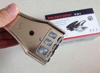 3 In 1 Micro Sim Cutter For Iphone 6 5 4 I9300 I9500 Adapter 2 Sim